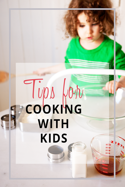 Five Tips for Cooking with Kids