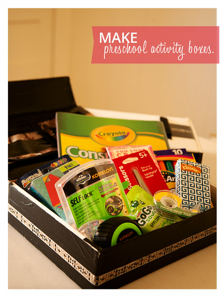 Essential Items to Include in Preschool Activity Kit