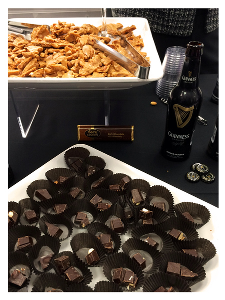 Guinness Stout Paired with See's Candies Peanut Brittle