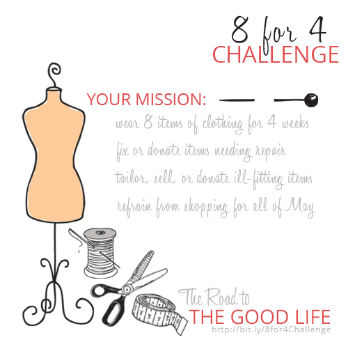 Guidelines for the 8 for 4 Challenge
