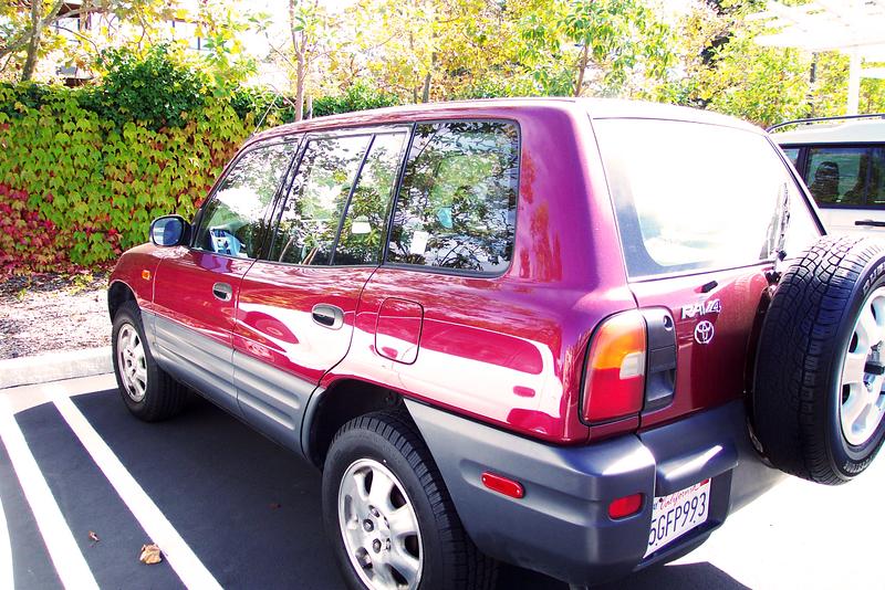 My First New Car: A Toyota RAV4