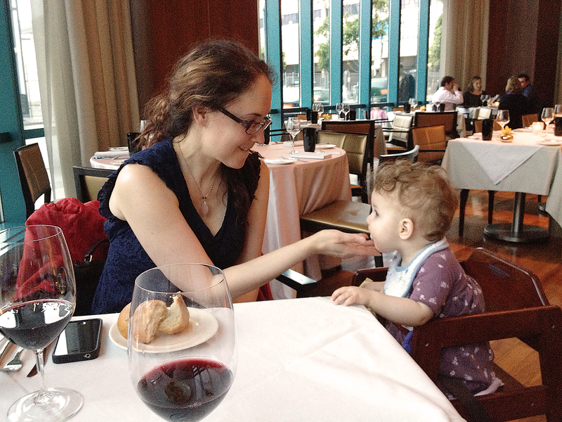 Celebrating Gates' First Birthday at Luce - A Michelin Star Restaurant