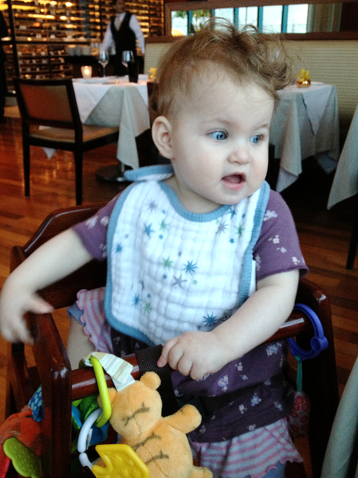 Gates Celebrates Her First Birthday at a Michelin Star Restaurant