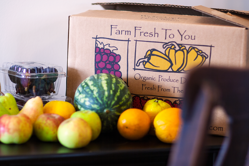 Organic, California-grown Fruits from Farm Fresh to You