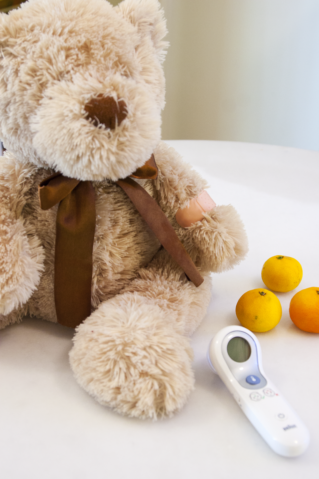 The Braun No Touch + Forehead Thermometer and Vitamin C