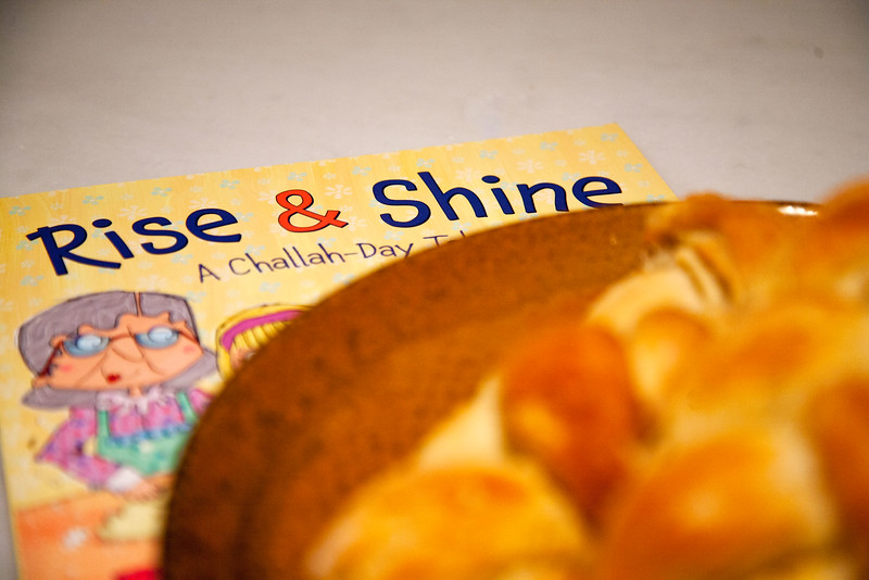 Rise & Shine: A Challah-Day Tale Children's Book