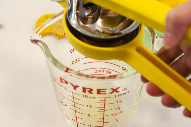 Juicing Meyer Lemons for Farm Fresh Lemonade