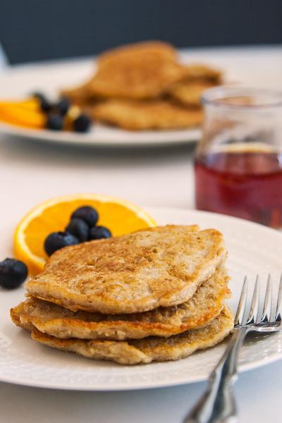 Swedish Oatmeal Pancakes
