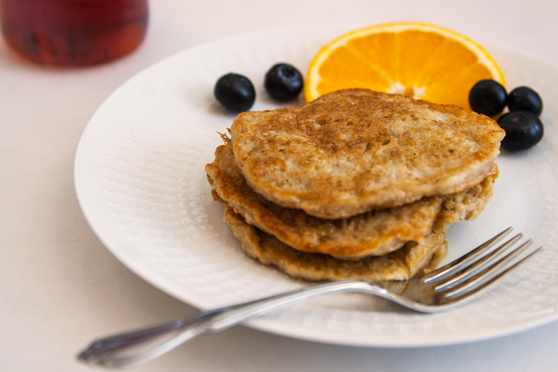 Swedish Oatmeal Pancakes