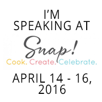 I'm Speaking at Snap! 2016