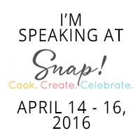 I'm Speaking at Snap! 2016