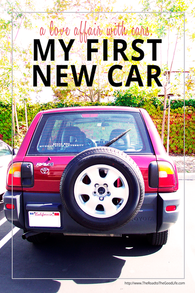 A Love Affair with Cars - My First New Car