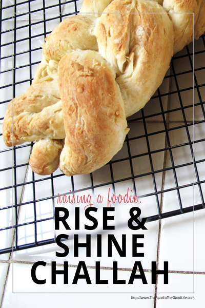 Homemade Challah Inspired by Rise & Shine: A Challah-Day Tale Children's Book