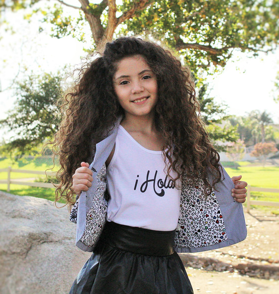 Girl's Hola Shirt from Mixed Up Apparel