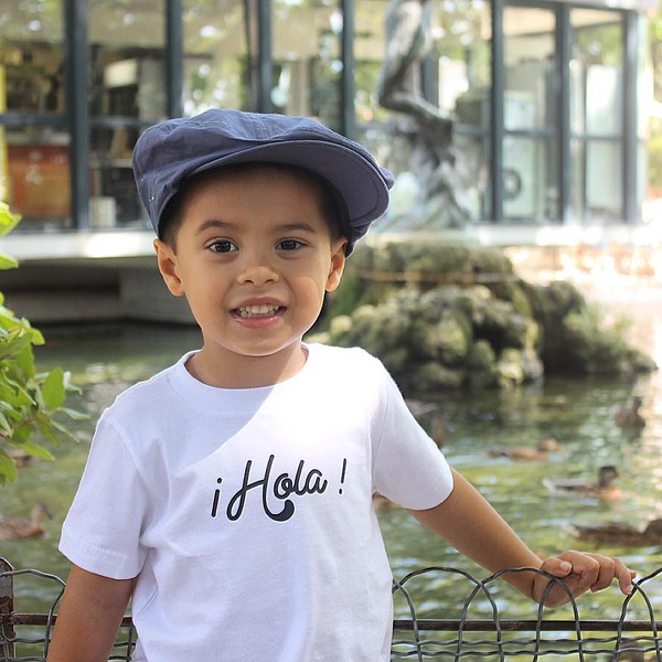 Boy's Hola Shirt from Mixed Up Apparel