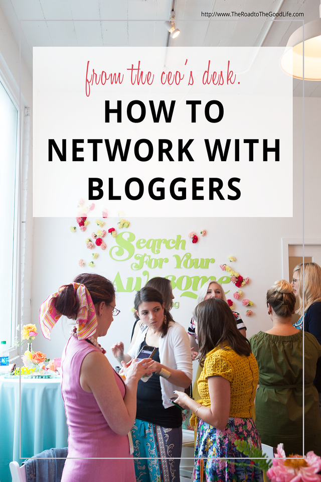 5 Tips for Networking with Bloggers